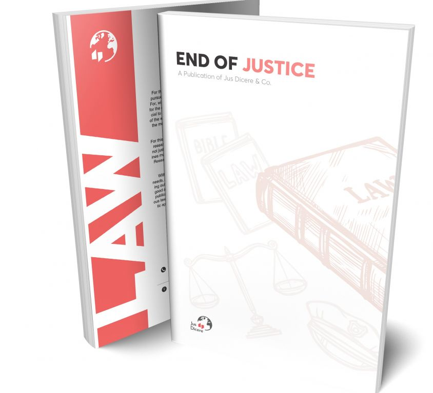 End of Justice: To Serve the Victim or the Culprit